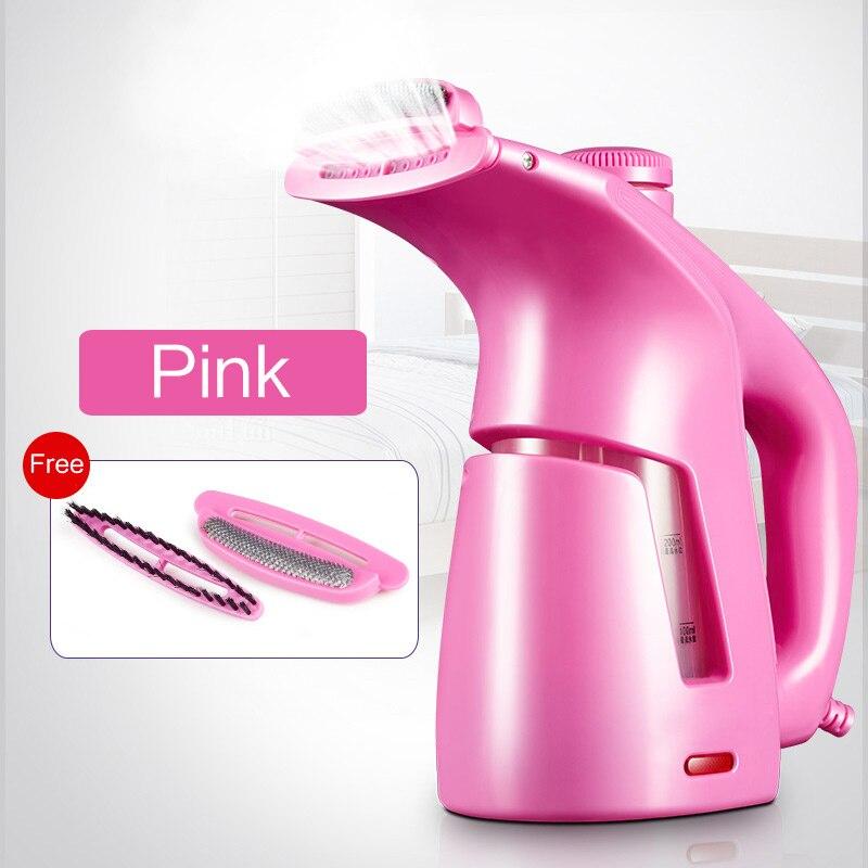 Портативная подвесная машина, домашний маленький Утюг, Мини Портативная Паровая щетка для путешествий, гладильная S-X-3319A - Цвет: pink
