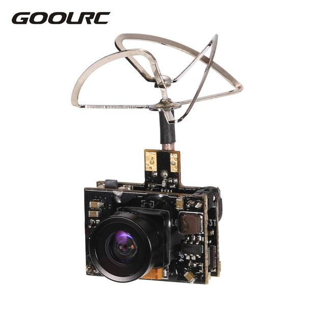 GoolRC 800TV FPV Camera 5.8G 40CH 25 100 200mW Transmitter IPEX Antenna for Inductrix QX90 H36 T36 NH-010 RC Racing Drone Part