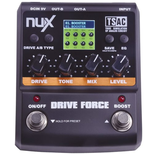ANYSUN@NUX Drive Force Modeling Stomp Simulator Guitar Effect Pedal 10 Modeling Stompbox Models corridor safety modeling via segmentation