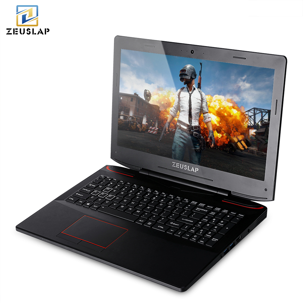 ZEUSLAP 15.6 inch intel i7-7700HQ 6gb video card GTX 1060 8/16/32 gb DDR4L ram 128/256/512gb ssd gaming notebook computer laptop plywood