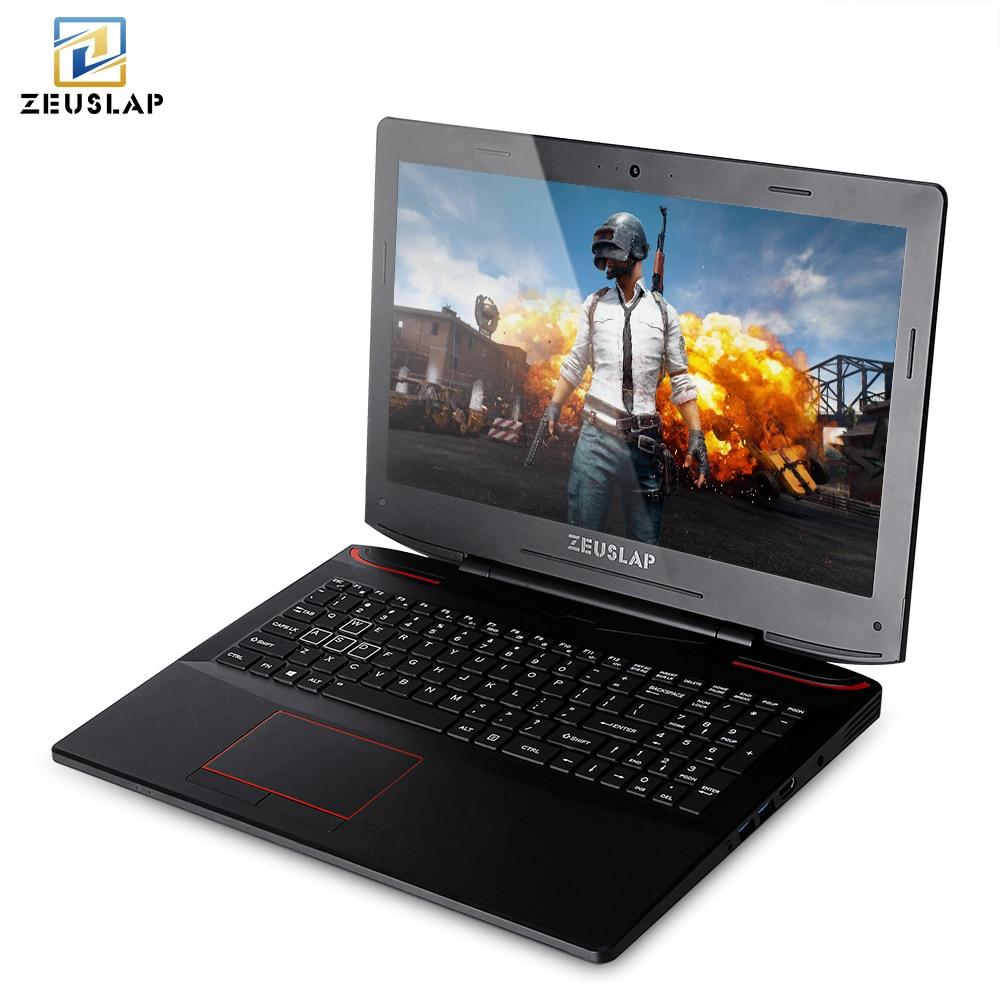ZEUSLAP 15.6 inch intel i7-7700HQ 6gb video card GTX 1060 8/16/32 gb DDR4L ram 128/256/512gb ssd gaming notebook computer laptop