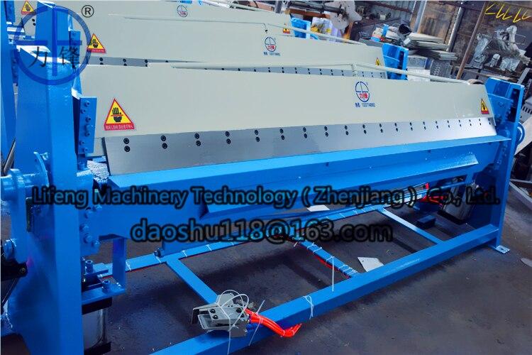Pneumatic / manual aluminium sheet bender , aluminium sheet hand folding machine