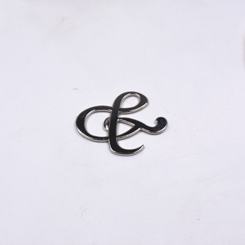 """Hot sell 100Pcs/lot  """"Mr. and Mrs."""" Ampersand Bottle Opener Favor For Party Supplies Silver Wedding Gift For Guest"""