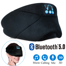 Bluetooth 5.0 Sleep Music Call Eye Mask Earmuffs Full Shading Handfree Wireless