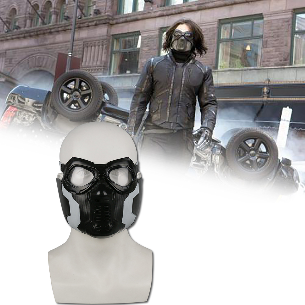 The Avengers Captain America 3 The Winter Soldier Cosplay Puntelli Maschera Di Halloween / Carnival Party Cosplay