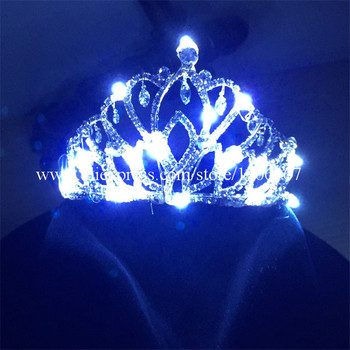 2016 New LED Luminous Headwear Led Flashing Wedding Crown For Party Wedding Stage Show