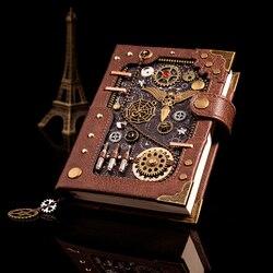 Cuaderno creativo de personalidad europea libro de cuenta de mano retro Bloc de notas de mano calendario diario pequeño carry Gamerhandbook