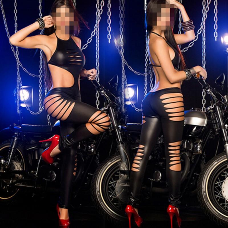 M7262 Black Jumpsuit