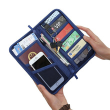 Travel Passport Pokrowce torba portfel Travel USB dane ładowania Cable przechowywanie dokumentów Bank Card Pack Organizer telefon klucz torba tanie tanio Akcesoria podróżne 0156 23cm Portfele paszportowe 3 cm 12 5 cm 0 18 kg Oxford z bocian Stałe Cyfrowa torba do przechowywania