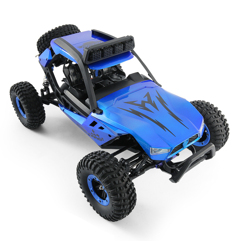 JJRC JJRC Q46 112 2.4G RC Car 4WD 45kmh High Speed Rock Crawler Desert Buggy Cars RTR for Kids Children Gifts RC Toys (9)
