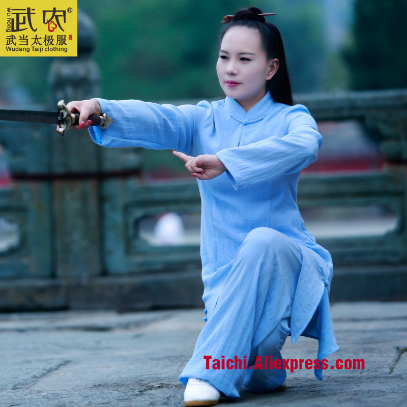 Wudang Tai chi clothing linen clothes for men and women Taijiquan clothing Kung Fu Uniform 2017 new men are wearing cotton clothes for men s clothing and clothing for fashion and youth