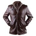 Fashion Winter Jacket Men Fur Lined Warm Parka Jacket Men Thicken Wool Pu Leather Jacket Men Suede Jacket Male Windbreaker DJ008