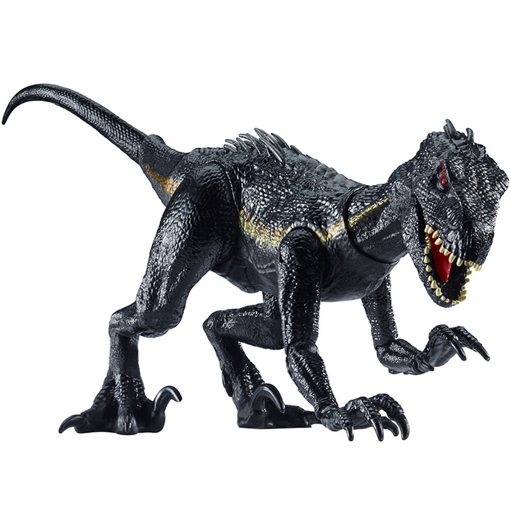 Jurassic World 2 Park 39CM Indoraptor Dinosaurs Toy Make Roar Classic Toys For Boy Animal Model Action Figures цена