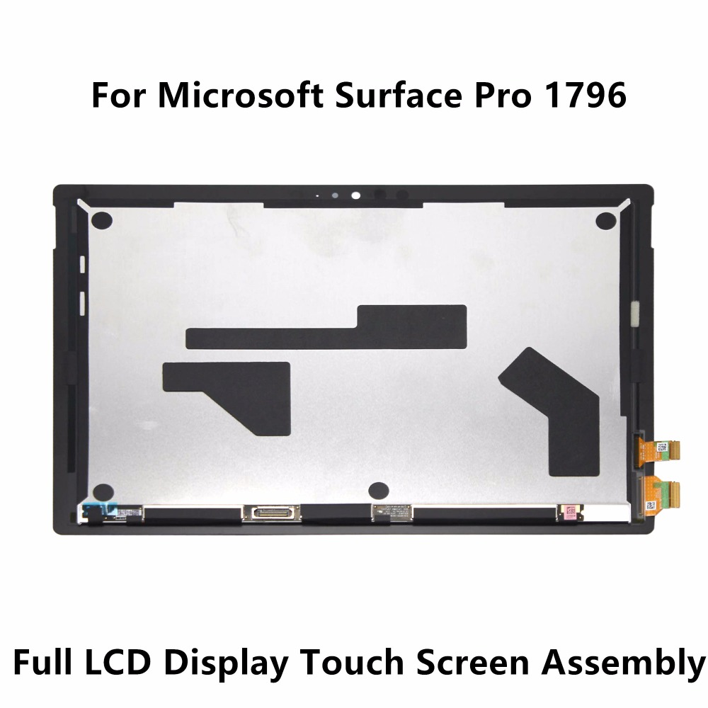 New 12.3'' LCD Screen Display Panel Touch Digitizer Glass Sensor Assembly 2736X1824 For Microsoft Surface Pro 1796 LP123WQ1 SPA2 new 11 6 for sony vaio pro 11 touch screen digitizer assembly lcd vvx11f009g10g00 1920 1080