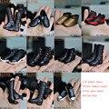 """(1 Pares) Kumik Escala 1/6 Figura Zapatos de Accesorios Para 12 """"coleccionables Juguetes Calientes Figura de Acción Del Cuerpo Muñeca Modelo Niños Juguetes Regalos B"""
