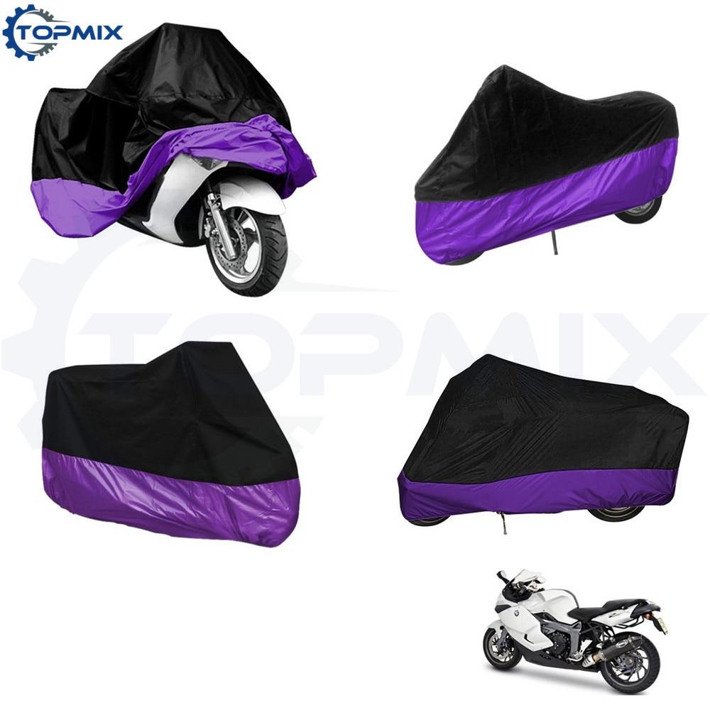 motorcycle cover-BlackPurple 1