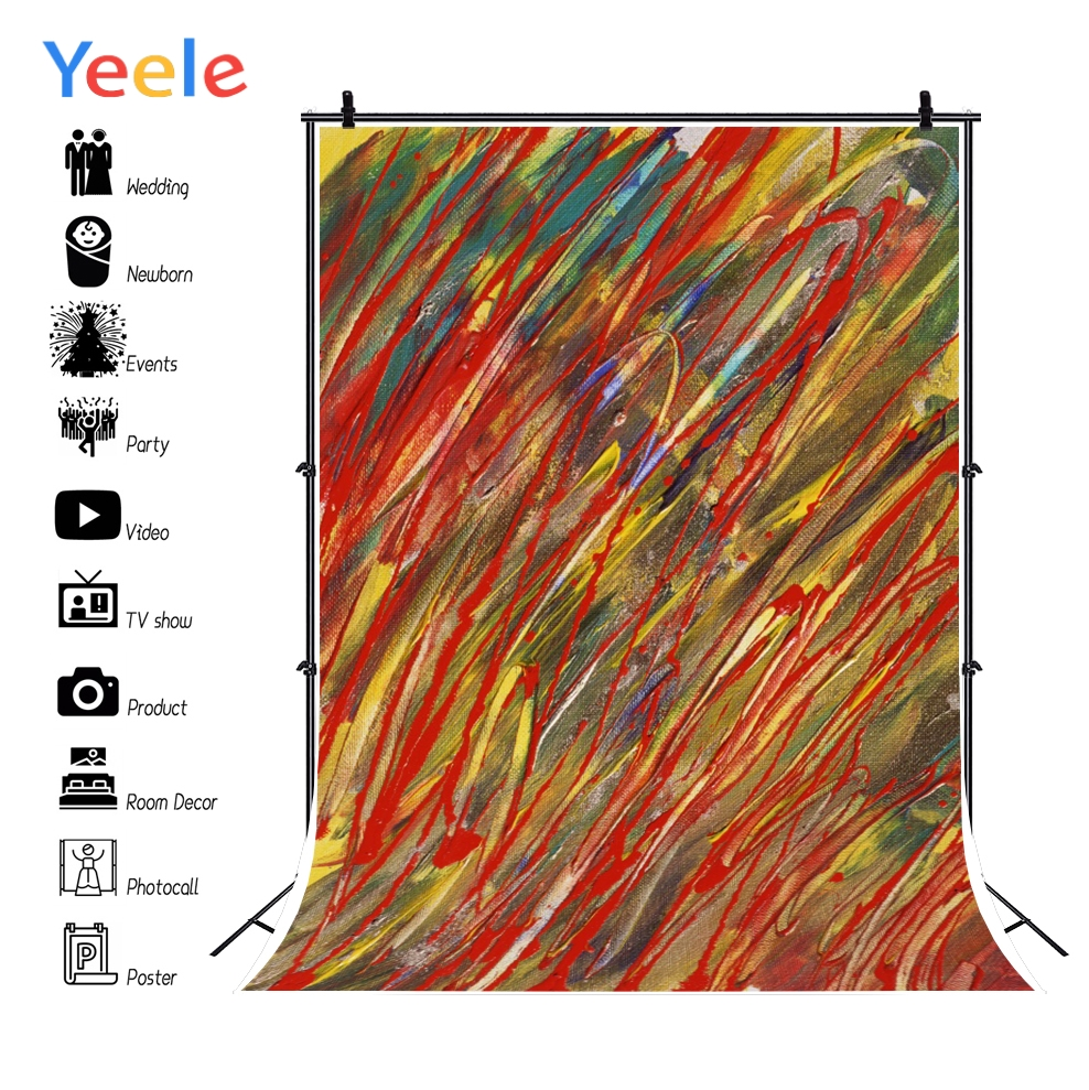 Yeele Wallpaper Colorful Graffiti Photocall Freedom Photography Backdrops Personalized Photographic Backgrounds For Photo Studio in Background from Consumer Electronics