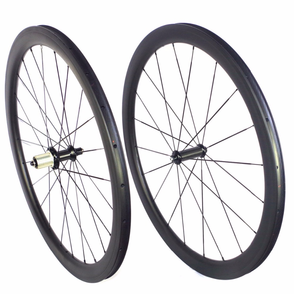 carbon bike wheels 38mm 45mm 50mm depth 23m width clincher carbon road wheelset carbon road bike