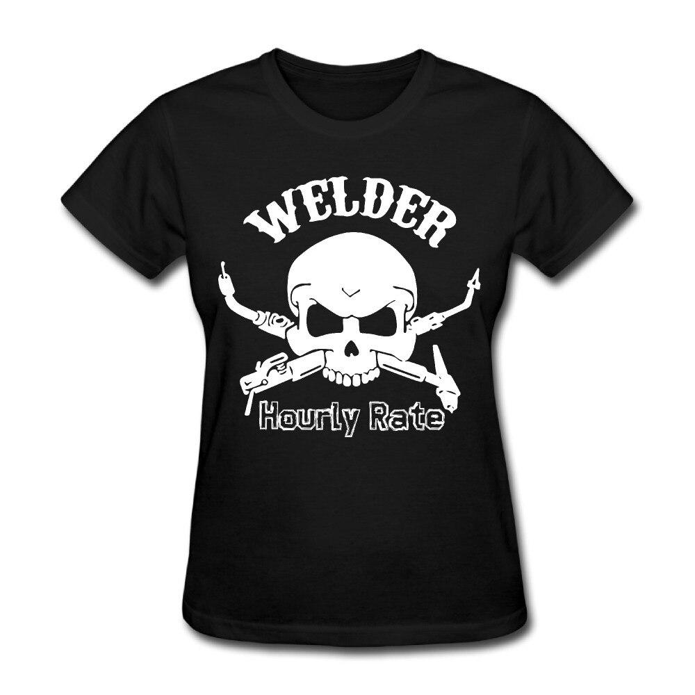 Shirt design rates - 2017 Welder Hourly Rate Print T Shirts Women Lovely Style Design Summer Dance