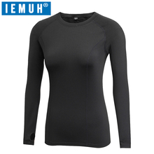 IEMUH Brand Long Johns Autumn Winter Warm Clothes Women Quick Dry Anti-Bacterial Stretch Warm Thermal Underwear Women Long Johns