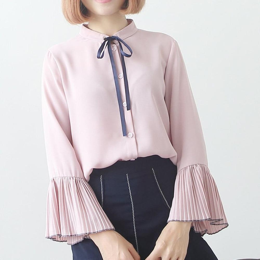 Online Get Cheap Girls Shirt Chiffon Ruffle Blouse -Aliexpress.com ...
