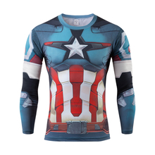 2016The avengers alliance tights man news cultivate one's morality long sleeve T-shirt