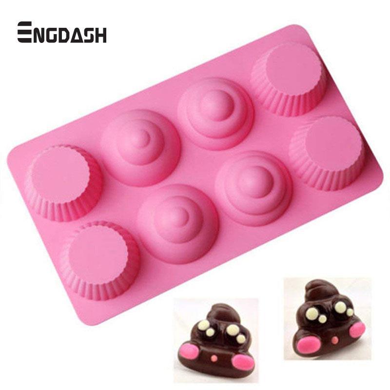 Kitchen,dining & Bar 28 Holes Emoji Cake Mold Silicone Expression Fondant Chocolate Baking Moulds Decorating Tools Bakeware Moderate Price