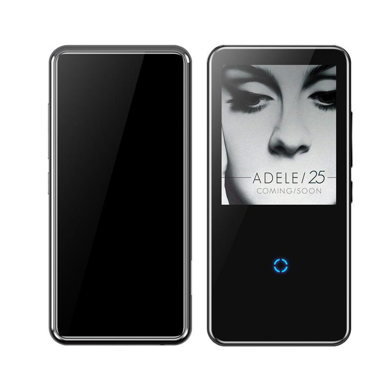 Mahdi M600 MP3 Player bluetooth HiFi 2.4Inch  Video player Wireless Portable Sport MP3 8GB Built-in Speaker FM Radio