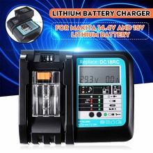 DC18RC Fast Lithium-Ion Battery Charger BL1830 BL1840 BL1850