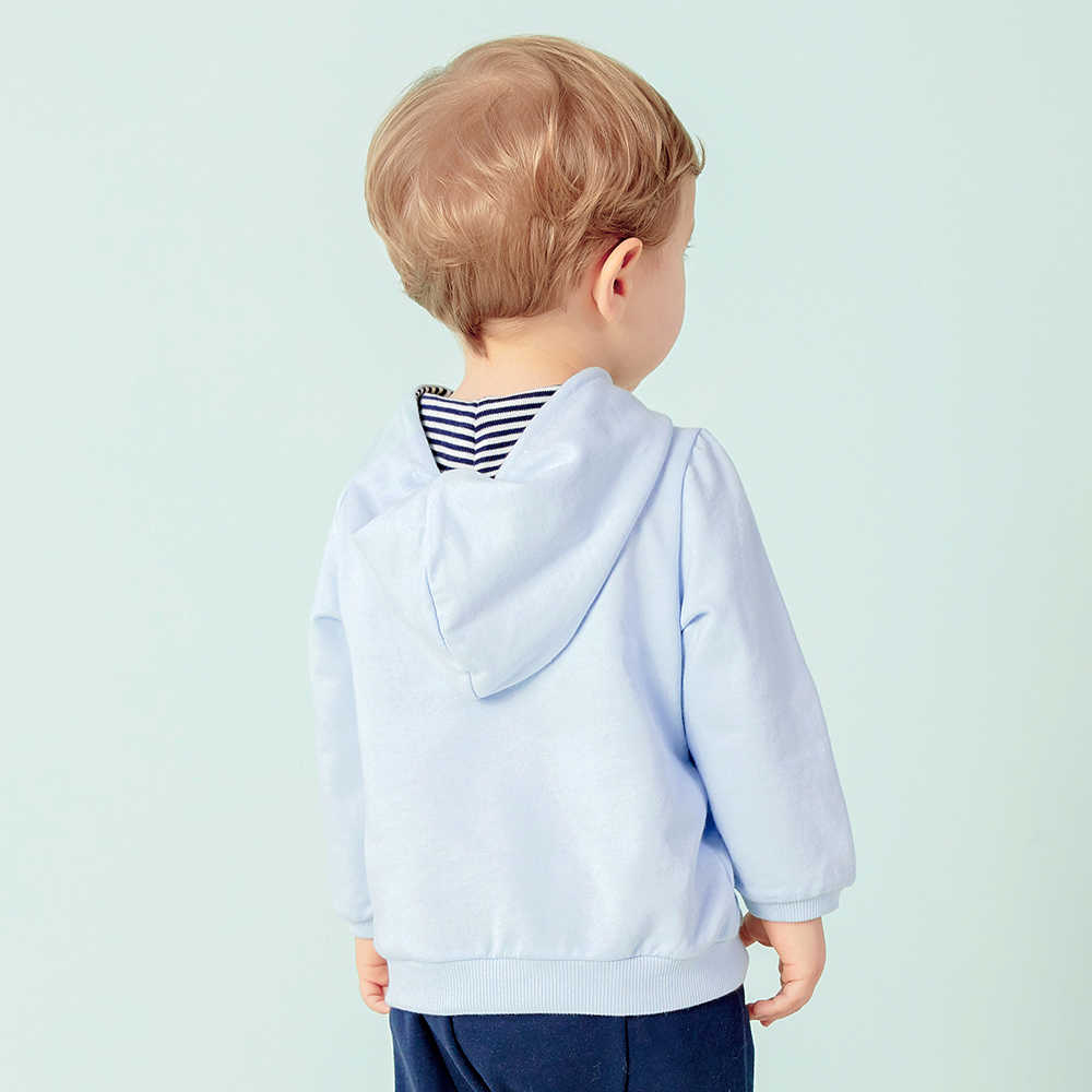 Balabala baby girl boy 3d 귀 후드 티셔츠 유아 신생아 베이비 소프트 라이닝 100% 코튼 그래픽 셔츠 탑스 의류