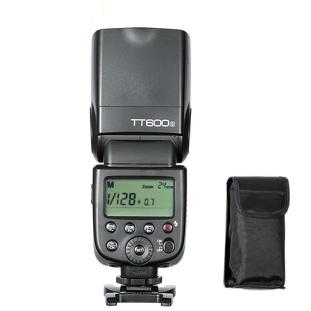 лучшая цена Godox TT600S Thinklite Camera Flash with Master and Slave Built-In 2.4G Wireless X System Speedlite for Sony Dslr Cameras