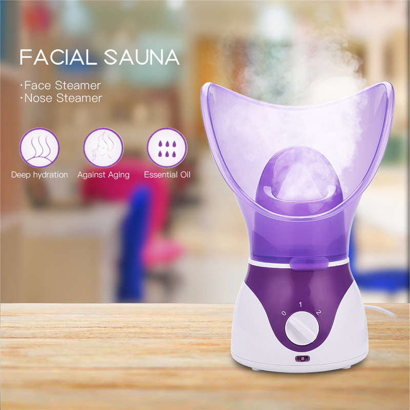 Mulheres Rosto Vapor Dispositivo Vapor Sauna Spa Hidratação Da Pele Pessoal Profissional Iônica Nano Pulverizador Facial Pore Cleaner 31