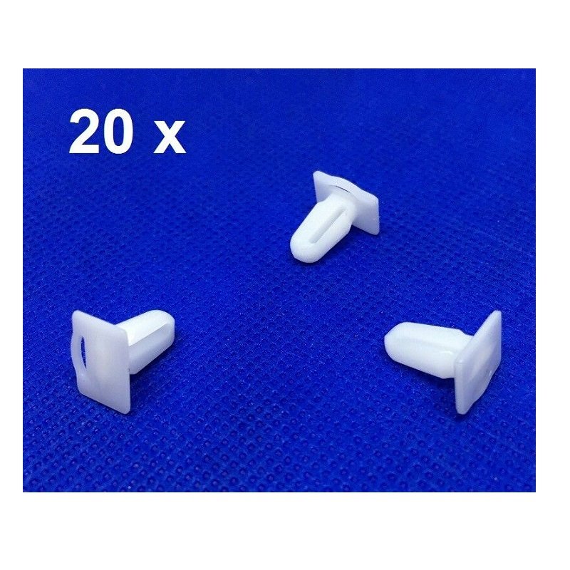 20 X Pieces Door Sill Plate Side Moulding Clip for <font><b>BMW</b></font> <font><b>E21</b></font> <font><b>E30</b></font> E36 51471840960OE image