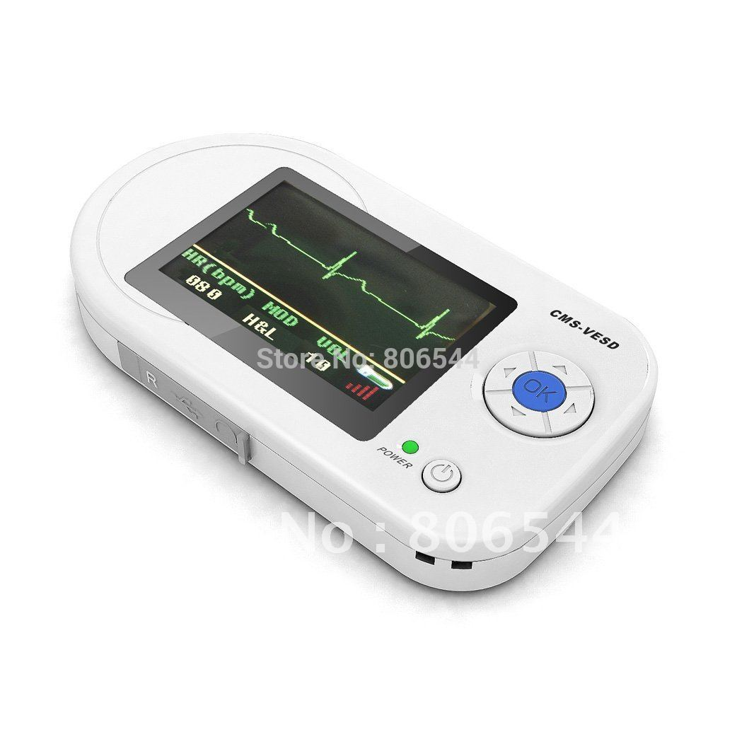 CE/FDA Approved Visual Digital Stethoscope ECG SPO2 PR Electronic Diagnostic USB Multi Function Clinical Probe EKG Home Use HR