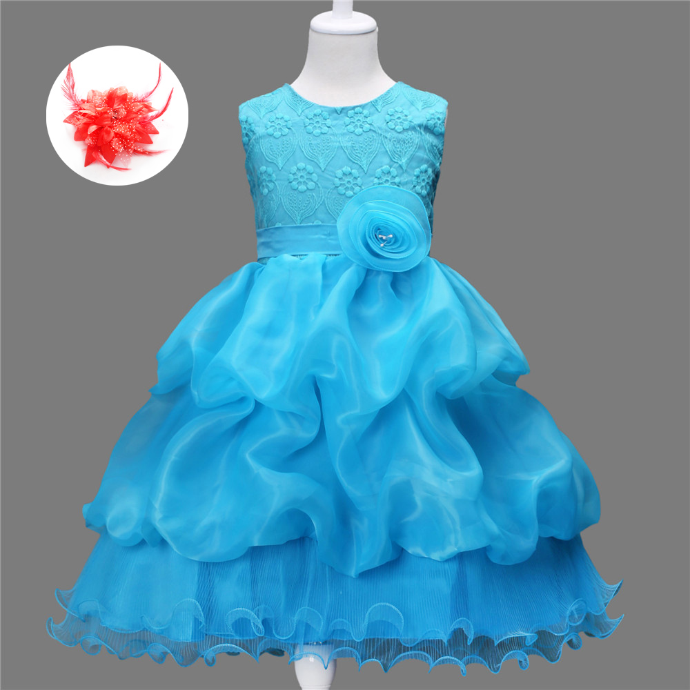 Robe Fille 3 Enfant 10 Years Old Children Wedding Gowns Kids Party ...