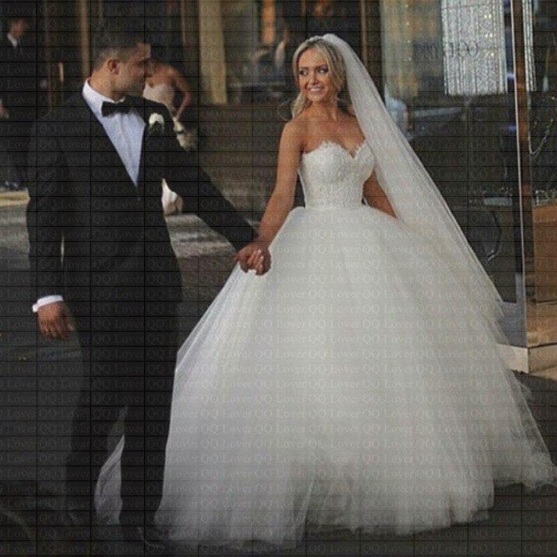 Soirée 2019 Noiva De Boule Mariée Mariage Chérie Robe Mesure 9i2wdhe Sur mw8n0vN