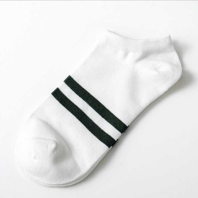 10pcs = 5 คู่ถุงเท้าผู้ชายฝ้ายถุงเท้าเรือ All Seasons ฤดูใบไม้ผลิฤดูใบไม้ร่วงชาย Casual Harajuku Breathable ผู้ชายถุงเท้าข้อเท้า Meias
