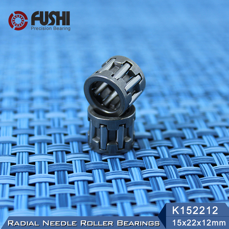 K152212 Bearing size 15*22*12 mm ( 2 Pcs ) Radial Needle Roller and Cage Assemblies K152212 19243/15 Bearings K15x22x12 цены