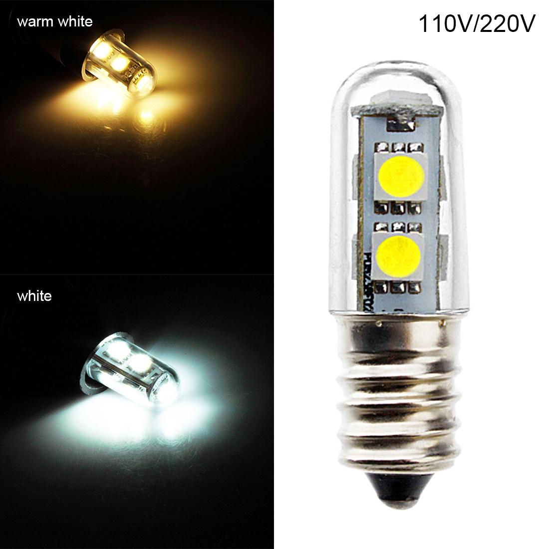 LED Work Light Chandelier 220v E14 11W LED Small Mini Bulb Lights Indicator Lamp For Fridge Refrigerator Freezer Chandelier