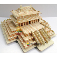Taihe Palace 3D Puzzles model wooden puzzle handmade children gift kids toy