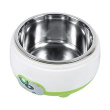 220V 1L Yogurt Maker Automatic Stainless Steel Liner Machine Home DIY Yoghourt Container