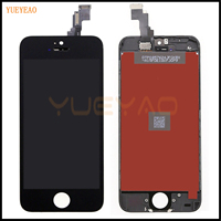 YUEYAO Grade AAA LCD Display For IPhone 5 5S 5C Touch Screen With Digitizer Assembly Replacement