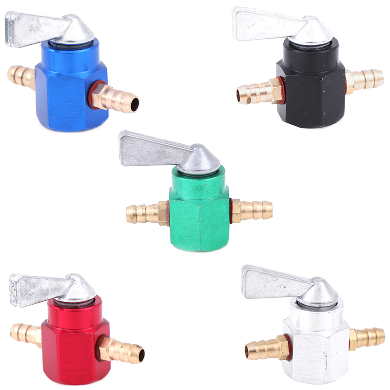 1PCS Universal 6mm In-Line Petrol / Fuel Tap Motorcycle On-OFF Petcock Fuel Switch Drop Shipping Support