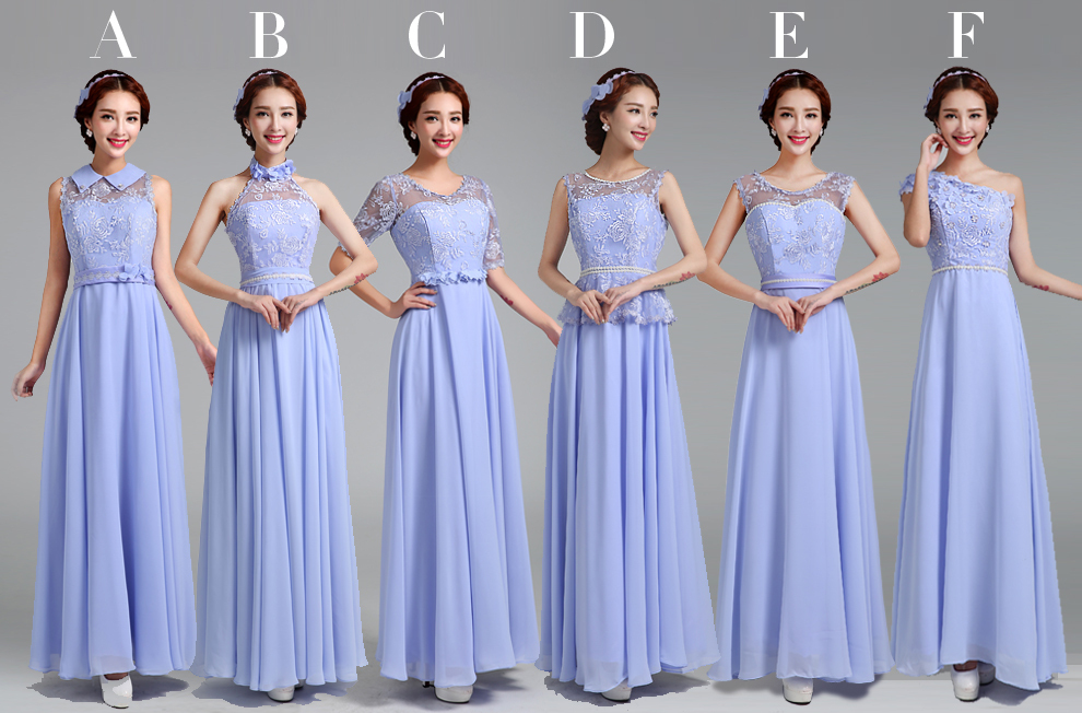 2017 New V Neck Chiffon Long Dress Purple Lace Bridesmaid Dresses 01c In From Weddings Events On Aliexpress Alibaba Group