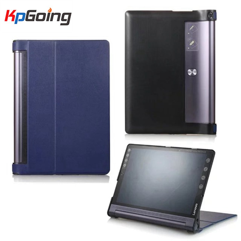 Fold Folio Case Book leather case cover For Lenovo Yoga Tab3 Tab 3 Plus YT-X703F / Yoga3 Pro X90F/L 10.1 inch Tablet cover case ultra slim soft silicon case for 10 1 inch lenovo yoga tab 3 pro 10 x90m x90l case for lenovo yoga tab 3 plus yt x703f