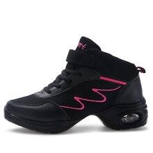 Jazz Shoes Woman Dancing Shoe Modern Hip Hop Practice Ladies Breath Fitness Zapatos Ballet tennis feminino esportivo 7.5
