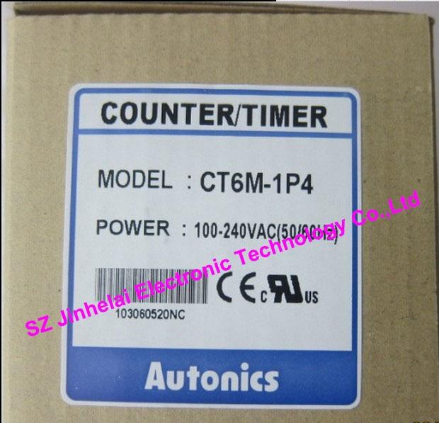 все цены на 100%New and original  CT6M-1P4   AUTONICS   TIMER   100-240VAC онлайн