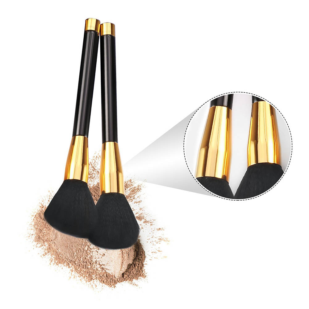 10 Pcs/Set Makeup Brushes Face Eyeliner Contour Powder Liquid Cream Foundation Make Up Brush Kit Cosmetic Tool SSwell high quality 24pcs makeup brushes set cosmetic make up brush tool kit fan foundation powder eyeliner brushes with leather case