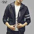 Новое Прибытие Мужчины Куртку Бренд Clothing Fashion Весенние Куртки Мужские Slim Fit Тонкий С Капюшоном Верхняя Одежда Пальто Для Мужчин jaqueta masculina