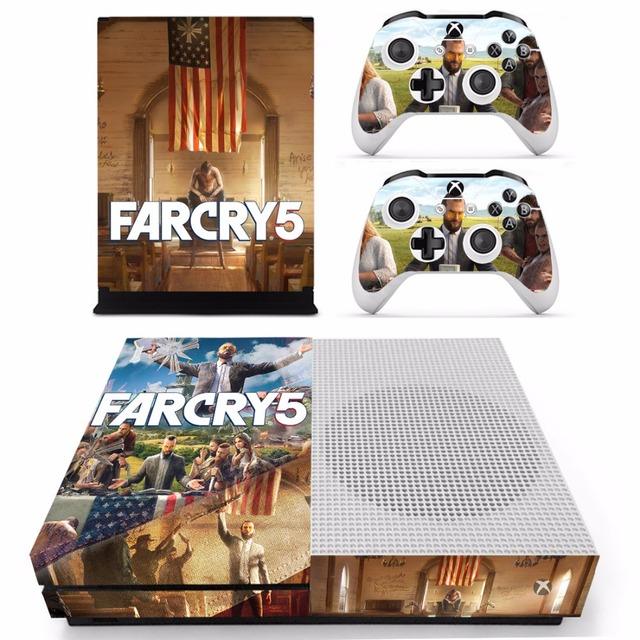 US $8 54 5% OFF|Game Far Cry 5 Farcry Skin Sticker Decal For Microsoft Xbox  One S Console and 2 Controllers For Xbox One S Skins Stickers Vinyl-in